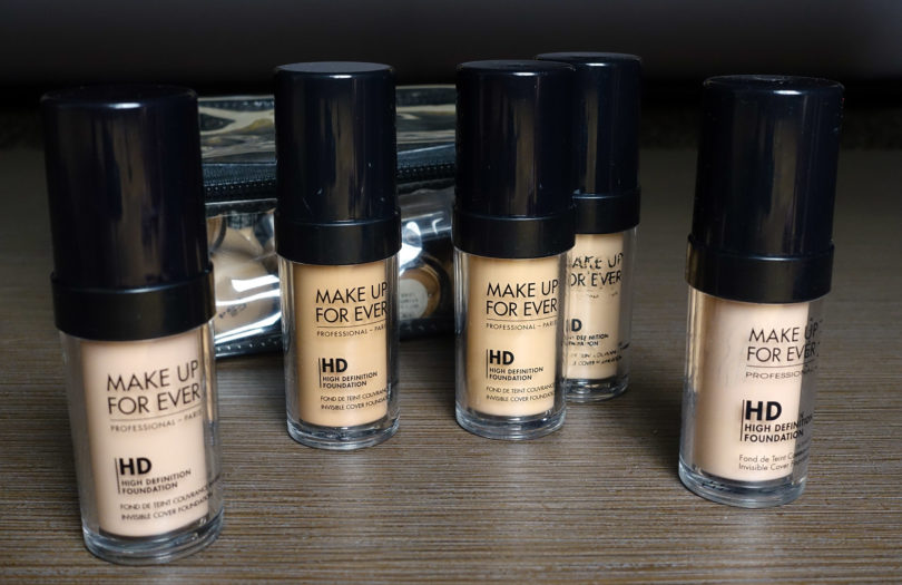 Perfect image of forever hd foundation